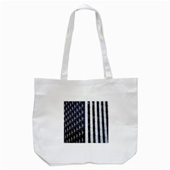 Architecture Building Pattern Tote Bag (white)