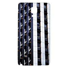 Architecture Building Pattern Galaxy Note 4 Back Case
