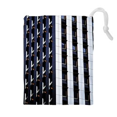 Architecture Building Pattern Drawstring Pouches (extra Large)