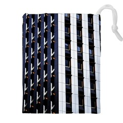 Architecture Building Pattern Drawstring Pouches (xxl)