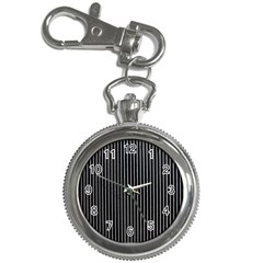 Background Lines Design Texture Key Chain Watches