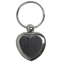 Background Lines Design Texture Key Chains (heart)