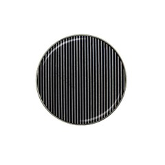 Background Lines Design Texture Hat Clip Ball Marker (4 Pack)
