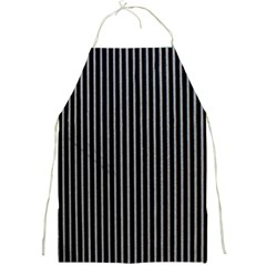 Background Lines Design Texture Full Print Aprons