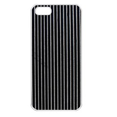 Background Lines Design Texture Apple Iphone 5 Seamless Case (white)