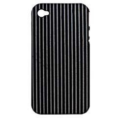 Background Lines Design Texture Apple Iphone 4/4s Hardshell Case (pc+silicone)