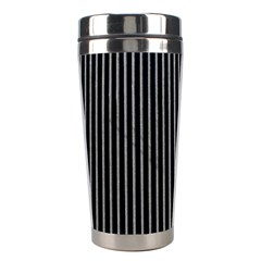 Background Lines Design Texture Stainless Steel Travel Tumblers