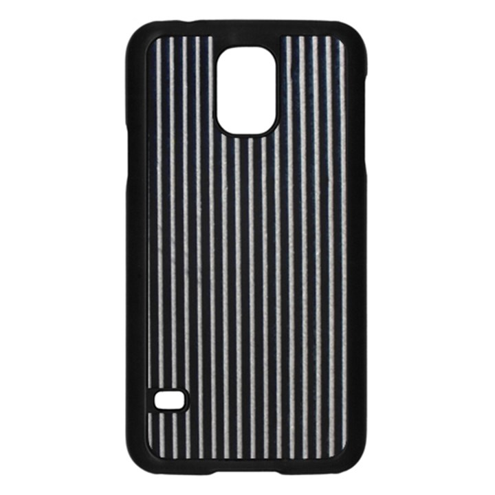 Background Lines Design Texture Samsung Galaxy S5 Case (Black)