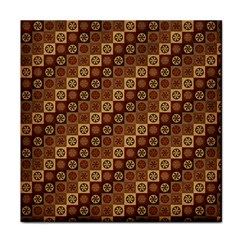 Background Structure Tile Coasters