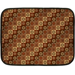 Background Structure Double Sided Fleece Blanket (mini)