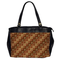 Background Structure Office Handbags (2 Sides)