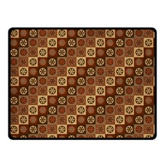 Background Structure Fleece Blanket (small)