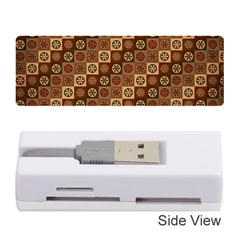 Background Structure Memory Card Reader (stick)