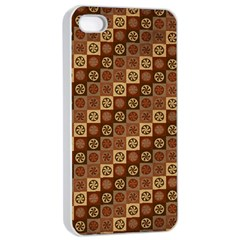 Background Structure Apple Iphone 4/4s Seamless Case (white)