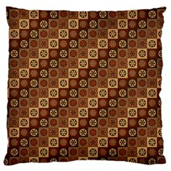 Background Structure Large Cushion Case (Two Sides)