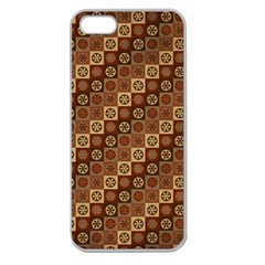 Background Structure Apple Seamless Iphone 5 Case (clear)
