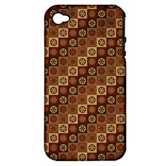Background Structure Apple Iphone 4/4s Hardshell Case (pc+silicone)
