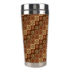 Background Structure Stainless Steel Travel Tumblers