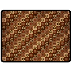 Background Structure Double Sided Fleece Blanket (large)