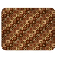 Background Structure Double Sided Flano Blanket (medium)