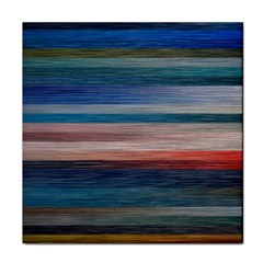 Background Horizontal Lines Tile Coasters