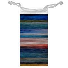 Background Horizontal Lines Jewelry Bag