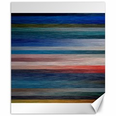 Background Horizontal Lines Canvas 8  X 10