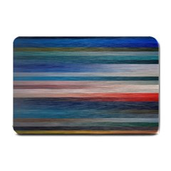 Background Horizontal Lines Small Doormat