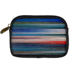 Background Horizontal Lines Digital Camera Cases