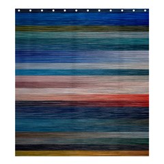 Background Horizontal Lines Shower Curtain 66  X 72  (large)