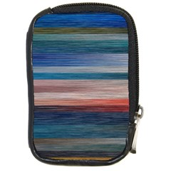 Background Horizontal Lines Compact Camera Cases