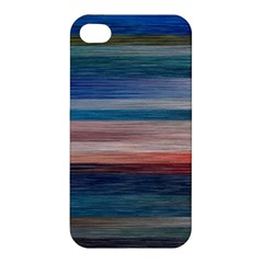 Background Horizontal Lines Apple Iphone 4/4s Premium Hardshell Case