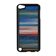 Background Horizontal Lines Apple Ipod Touch 5 Case (black)