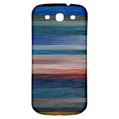 Background Horizontal Lines Samsung Galaxy S3 S Iii Classic Hardshell Back Case