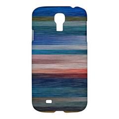 Background Horizontal Lines Samsung Galaxy S4 I9500/i9505 Hardshell Case