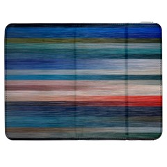 Background Horizontal Lines Samsung Galaxy Tab 7  P1000 Flip Case