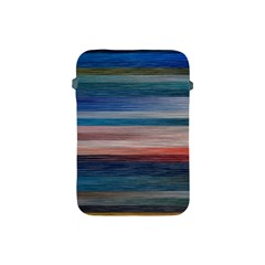 Background Horizontal Lines Apple Ipad Mini Protective Soft Cases