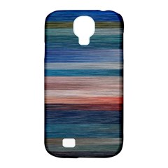 Background Horizontal Lines Samsung Galaxy S4 Classic Hardshell Case (pc+silicone)