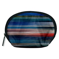 Background Horizontal Lines Accessory Pouches (medium)