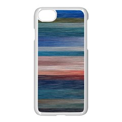 Background Horizontal Lines Apple Iphone 7 Seamless Case (white)