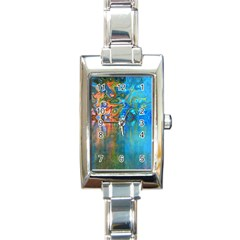 Background Texture Structure Rectangle Italian Charm Watch