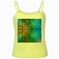 Background Texture Structure Yellow Spaghetti Tank