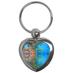 Background Texture Structure Key Chains (heart)