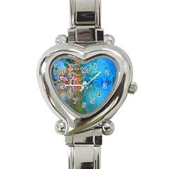 Background Texture Structure Heart Italian Charm Watch