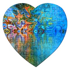 Background Texture Structure Jigsaw Puzzle (heart)