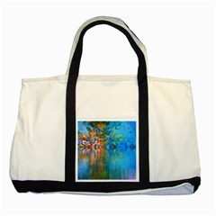 Background Texture Structure Two Tone Tote Bag