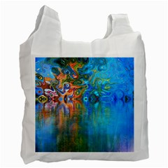 Background Texture Structure Recycle Bag (one Side)