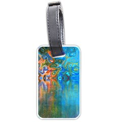 Background Texture Structure Luggage Tags (one Side)
