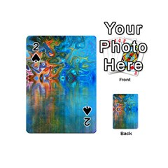 Background Texture Structure Playing Cards 54 (mini)