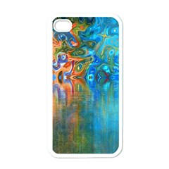 Background Texture Structure Apple Iphone 4 Case (white)